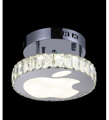 Rosemary LED  Flush Mount with Chrome finish (5612C10ST)