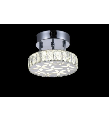 Aster LED  Flush Mount with Chrome finish (5618C8ST)