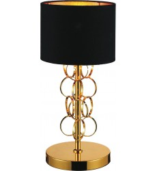 Chained 1 Light Table Lamp with Gold finish (5627T8G)