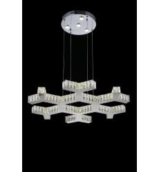 Arendelle LED  Chandelier with Chrome finish (5642P30ST-R) - CWI Lighting