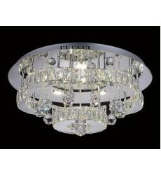 Cascata LED  Flush Mount with Chrome finish (5644C22ST-R) - CWI Lighting