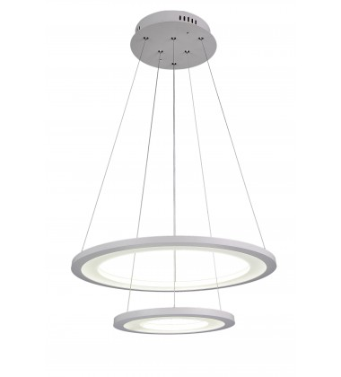 CWI- Alloha LED  Chandelier with White finish (5665P20-2-103)