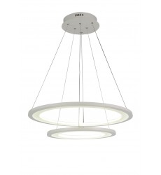 Alloha LED  Chandelier with White finish (5665P24-2-103)
