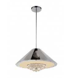CWI- Yangtze 9 Light Down Chandelier with Chrome finish (5666P25C)