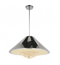 CWI- Yangtze 12 Light Down Chandelier with Chrome finish (5666P32C)