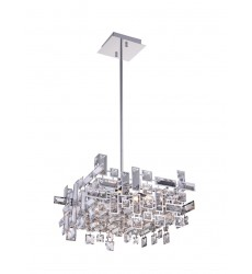 Arley 6 Light  Chandelier with Chrome finish (5689P14-6-S-601) - CWI Lighting