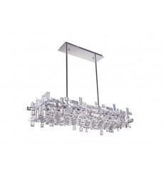 Arley 12 Light Island Chandelier with Chrome finish (5689P35-12-601)