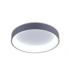 Arenal LED Drum Shade Flush Mount with White finish (7103C18-1-167)