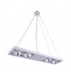 CWI- Wrest LED Island Chandelier with White finish (7114P32-4-103)