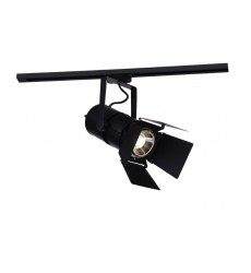 CWI - Palco LED Outdoor Semi-Flush Mount with Black & Wood finish (7119C13-1-101)
