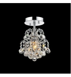 Blossom 1 Light  Flush Mount with Chrome finish (8015C9C-R)