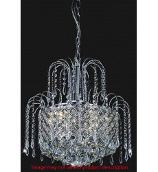 CWI- Royal 8 Light Down Chandelier with Gold finish (8019P16G)