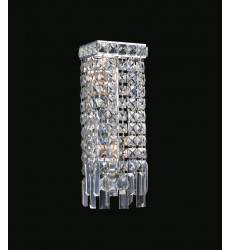 Colosseum 2 Light Wall Sconce with Chrome finish (8031W5C)