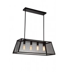 CWI- Macleay 4 Light Down Chandelier with Black finish (9601P31-4-101-A)