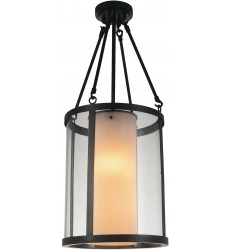 Danielle 2 Light Candle Mini Pendant with Oil Rubbed Brown finish (9804P12-2-115)