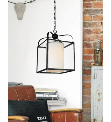 Danielle 1 Light Candle Mini Pendant with Oil Rubbed Brown finish (9804P14-1-S-115)