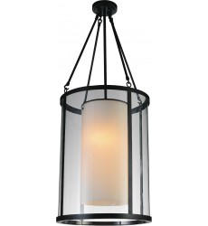Danielle 2 Light Candle Chandelier with Oil Rubbed Brown finish (9804P16-2-115)