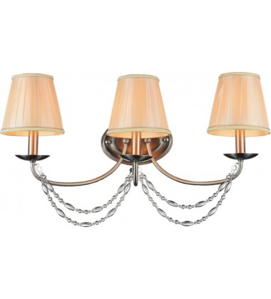 CWI - Paulie 3 Light Vanity Light with Satin Nickel finish (9816W24-3-606)