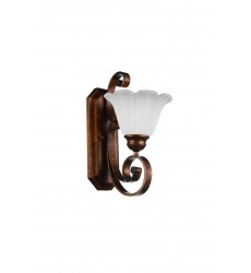 1 Light Wall Sconce with Antique Gold finish - CWI Lighting