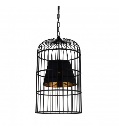 CWI - Silvester 1 Light Up Chandelier with Black finish (9865P16-1-101)