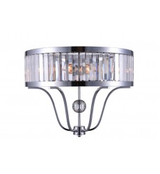 Belvoir 2 Light Wall Sconce with Chrome finish (9929W18-2-601) - CWI Lighting