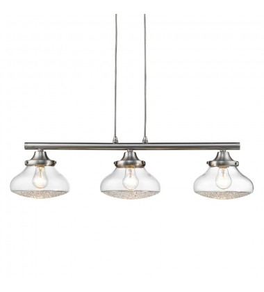GL - Asha 3 Light Linear Pendant (3417-LP PW-CC)