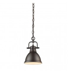 Duncan Mini Pendant with Chain (3602-M1L RBZ-RBZ)