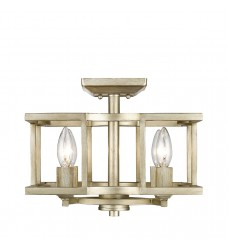 GL - Bellare Semi-Flush (Convertible) (7151-SF WG)