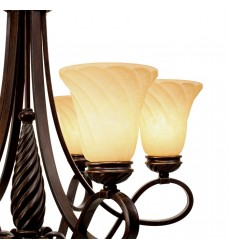 GL - Torbellino 6 Light Chandelier (8106-6 CDB)