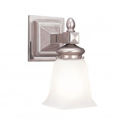 Cumberland 1 Light Bath Bracket 2821-SN Hudson Valley Lighting