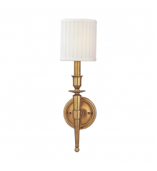Hudson Valley - Abington 1 Light Wall Sconce (4901-AGB)