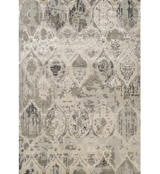 Kalora - Alaska Grey Distressed Ovals Rug (1217/57 240320)