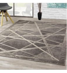 Kalora - 6x8 Alaska Grey White Light Show Rug (4609/78 160230)