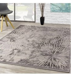 Kalora - 6x8 Alaska Grey White Connected Nodes Rug (9193/64 160230)