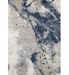 Kalora - 3x5 Alaska Grey Blue Paint Splatter Rug (9405/63 80150)