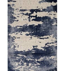 Kalora - Alida Blue/Cream Distress Rug (A322/3737 200290)
