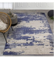 Kalora - Alida Blue/Cream Distress Rug (A322/3737 60110)