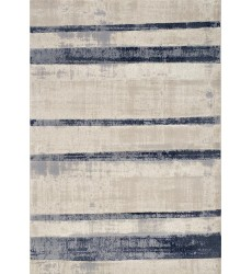 Kalora - Alida Faded Blue/Cream Stripes Rug (A331/3616 244320)