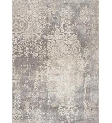 Kalora - 6x8 Alida Grey Beige Well-Worn Wall Etching Rug (B886/5232 156230)
