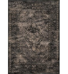 Kalora - Antika Black Old World Floor Cloth Rug (H311/112 200300)
