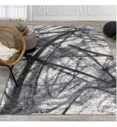 Kalora - Antika Grey Black Pastel Scribbles Rug (M823/33 170240)