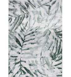 Kalora - 7x10 Antika Grey Green Overlaid Palm Fronds Rug (N223/25 200300)