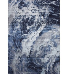 Kalora - 7x10 Antika Blue Grey Glacial Forms Rug (N246/24 200300)