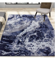 Kalora - 6x8 Antika Blue Grey Glacial Forms Rug (N246/24 170240)