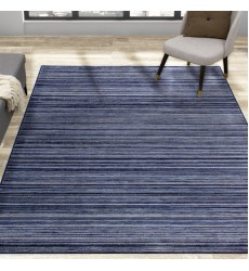 Kalora - 7x10 Antika Blue Grey Narrow Stripes Rug (N351/24 200300)