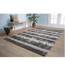 Kalora - Ashbury Grey Cream Braided Cords Rug (6373/1V04 240330)