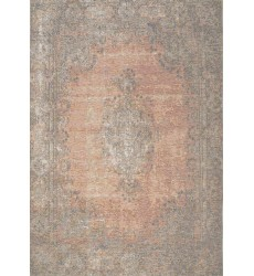 Kalora - Cathedral Salmon/Grey Traditional Border Rug (5331/02 60110)