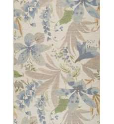 Kalora - Domain Cream Pink Blue Beachy Flowers Rugs (5347/05 60110)