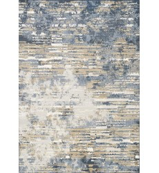 Kalora - 2x4 Intrigue Beige/Blue Distressed Rip Rug (12187/505 60120)