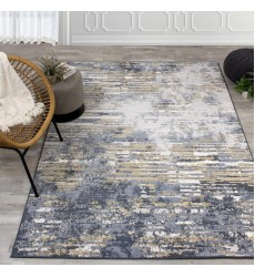 Kalora - Intrigue Beige/Blue Distressed Rip Rug (12187/505 60120)